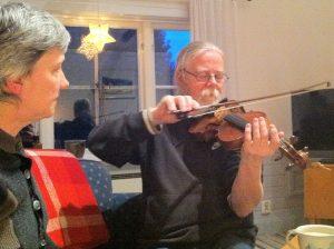 Violin lesson #1B